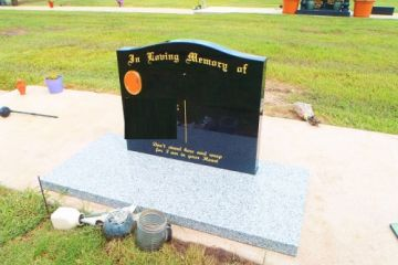 550-x-650-x-70-Black-granite-headstone-Grey-base-500x