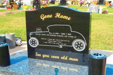 Black-serp-top-headstone-and-Blue-Pearl-base-500x