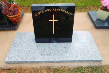 Solid-black-headstone-and-china-grey-base-500x